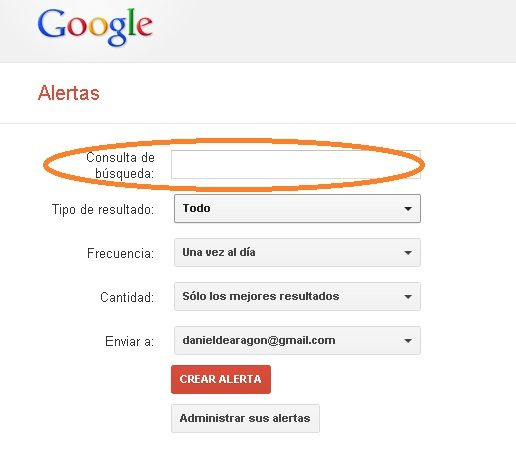 controlar lo que te interesa de google