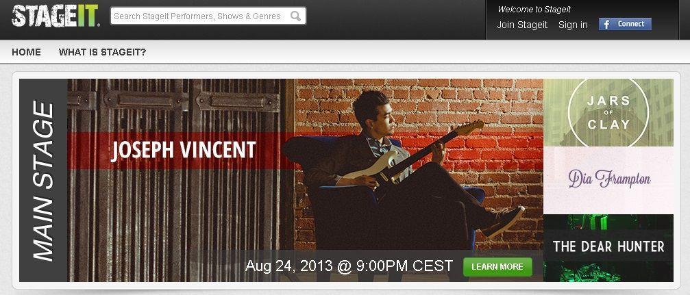 emitir conciertos por internet