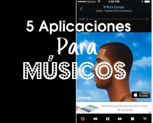 aplicaciones para músicos