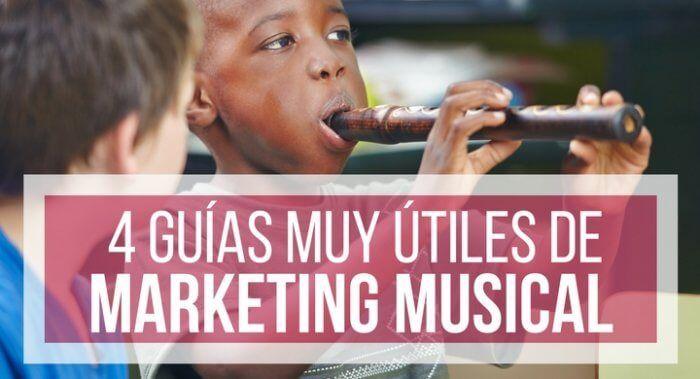 guías de marketing musical