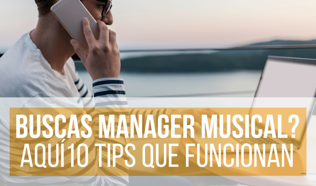 Encontrar a Un Manager Musical