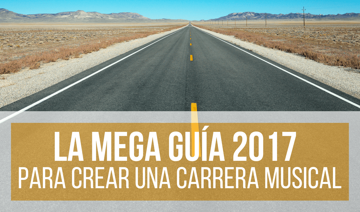 crear una carrera musical