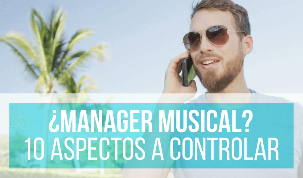 quiero ser manager musical