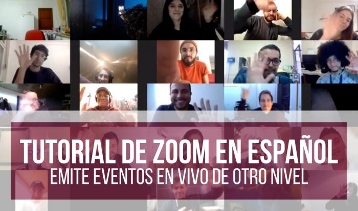 tutorial de zoom en español